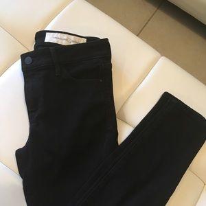 Black stretch pants Jeans like.